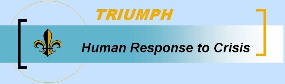 TRIUMPH Human Response to Crisis